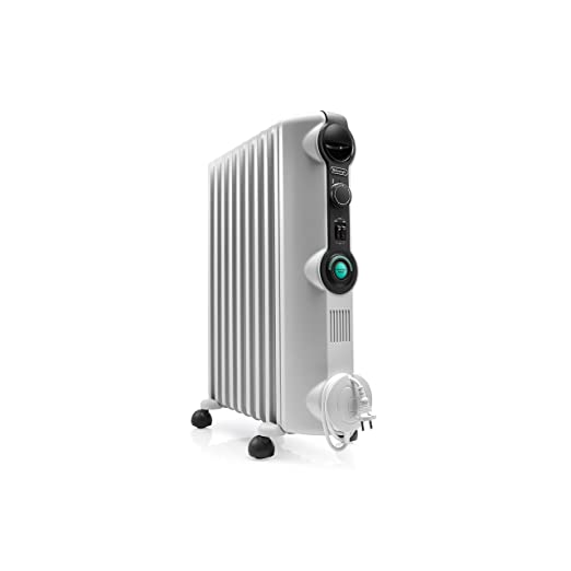 Delonghi RADIA S Radiador con Comfort-Temp, 9 Elementos, Blanco y ...