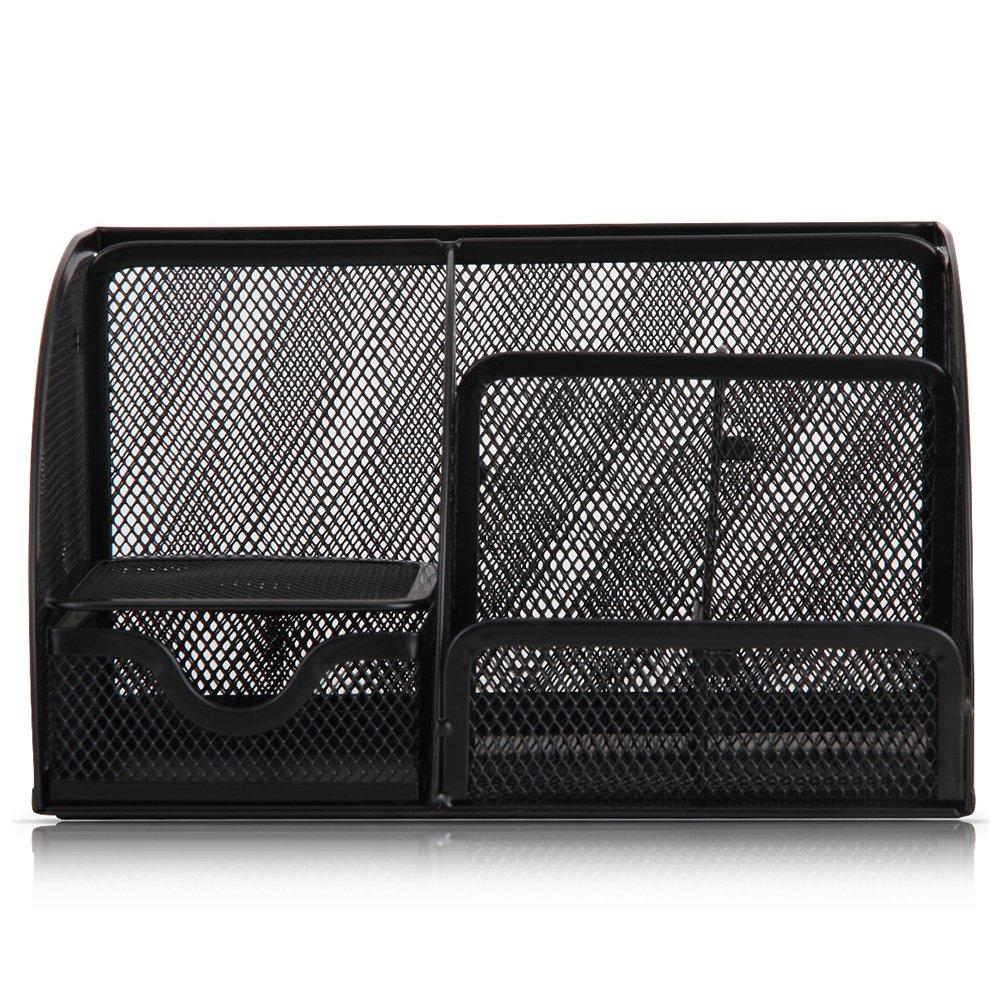 Zantec Präzise Multifunktions Eisen Stifthalter Container Home Büro Tisch Organizer Box B07CQKN82C    | Outlet Online