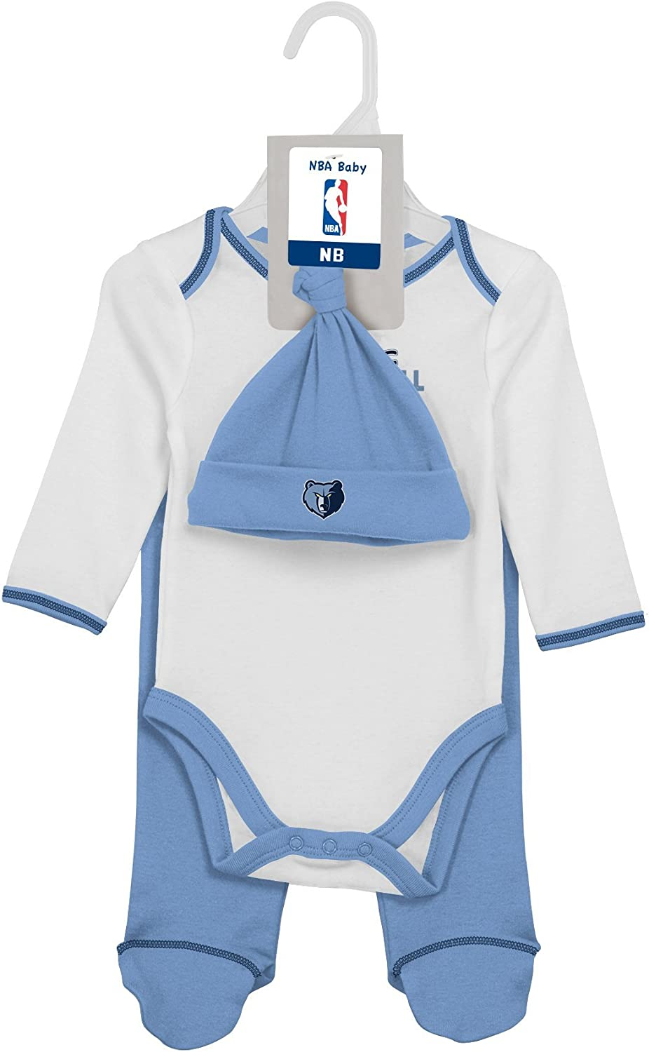 Pant and Hat Set NBA by Outerstuff NBA Unisex-Baby NBA Newborn Future Legend Onesie
