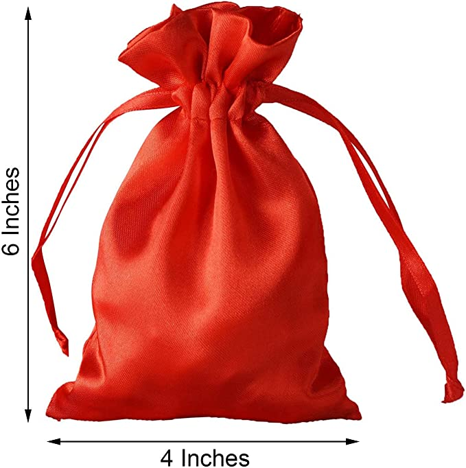 Silk Drawstring Bag 6x18-15cm x 46cm The Perfect  Reusable Bottle Gift Wrap.