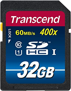 Transcend TS32GSDU1PE 32GB SDHC Card