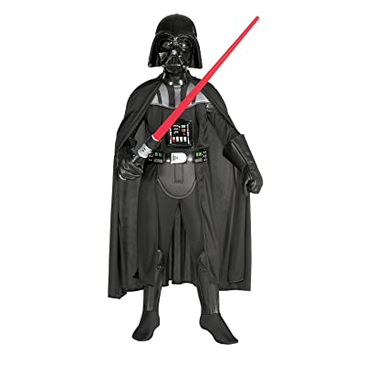 Deluxe Darth Vader Costume Black: Toys & Games [5Bkhe1400943]