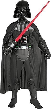 Oferta amazon: Star Wars - Disfraz de Darth Vader para niños, talla M (5-7 años) (Rubies 882014-M)