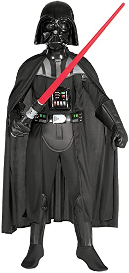 Star Wars Deluxe Darth Vader Deluxe Child Costume Large size 12-14