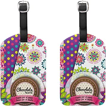 2 Pack Luggage Tags Dragon Pattern Travel Tags For Suitcase Bag Accessories