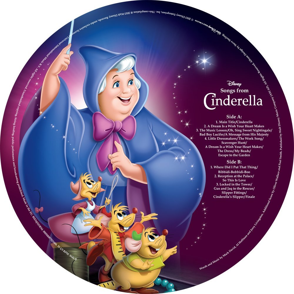 Songs From Cinderella [LP Picture Disc]
