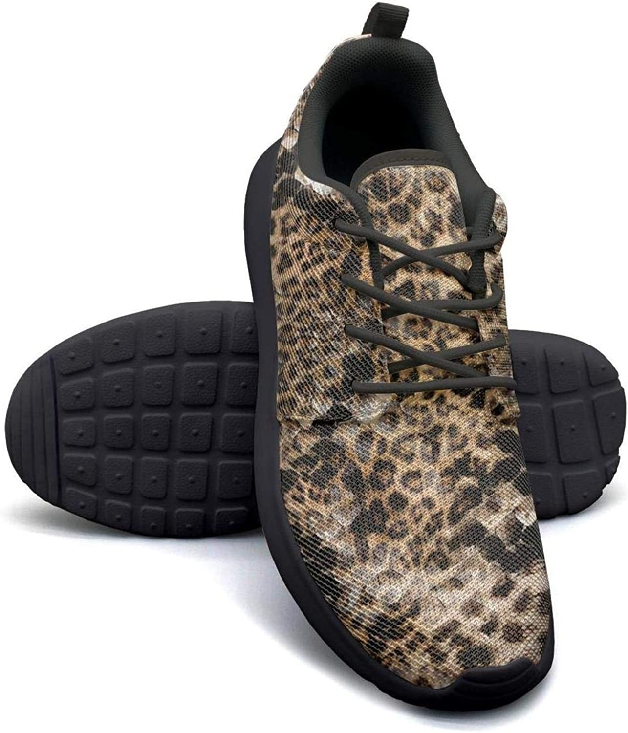 Fabric Striped Leopard Flower Background Womans Canvas Casual Shoes gymCoach Walking Shoes