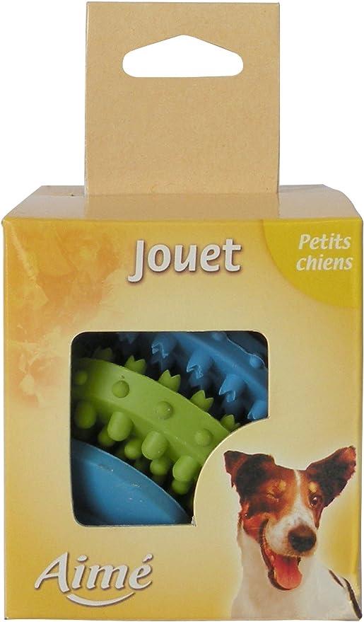 Pelota Dental Goma para perro: Amazon.es: Productos para mascotas