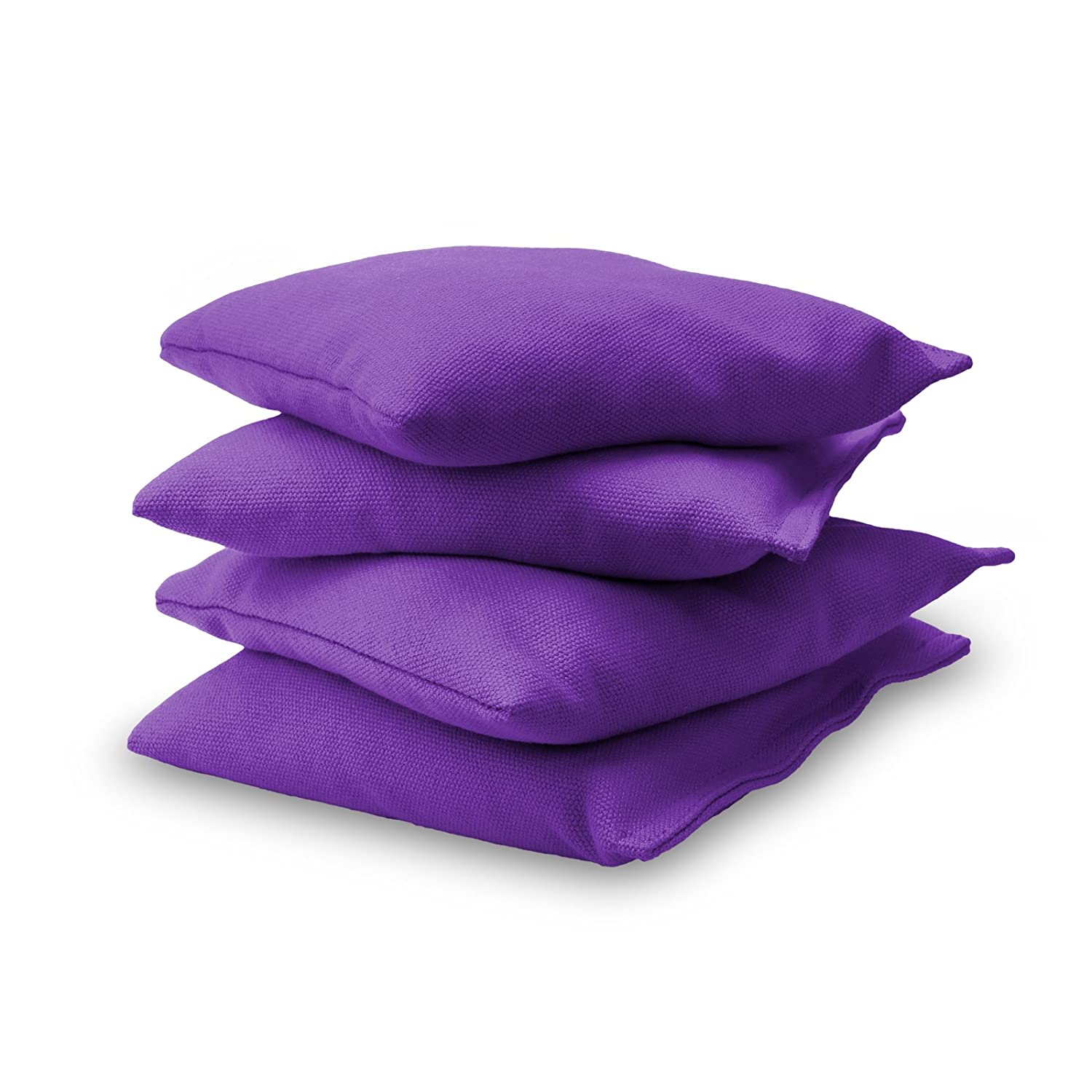 GoSports Premium Bean Bag (4 Set), Purple CH-BAGS-4-Purple