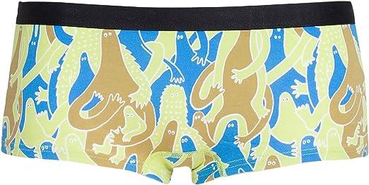 Frank Dandy - W. SMxFD Crowd Boxer mujer Verde Taille Large 95% algodón y 5% elastano.: Amazon.es: Ropa y accesorios