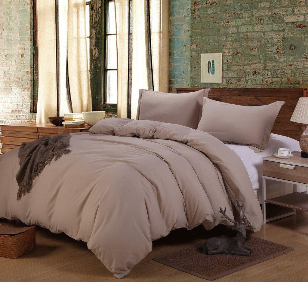 Rural Dandelion Luxury Duvet Cover Bedding Set Full/Queen, Cream