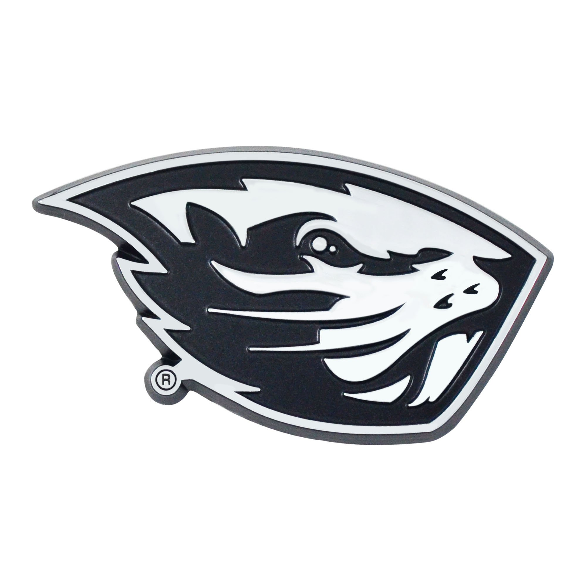Fanmats NCAA Oregon State Beavers Oregon State Universitychrome Emblem, Team Color, One Size by Fanmats