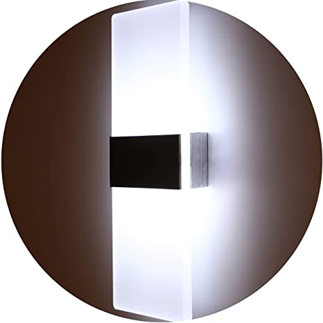 Ordinaire Topmo Modern Acrylic 12w LED Wall Sconces Aluminum Lights Decorative Lamps  Night Light For Pathway,