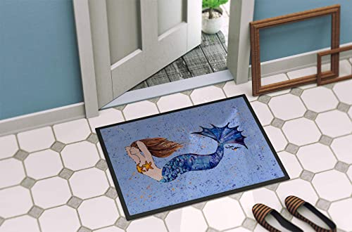 Caroline s Treasures 8337-MAT Mermaid Indoor or Outdoor Mat 18×27 8337 Doormat, 18H X 27W, Multicolor