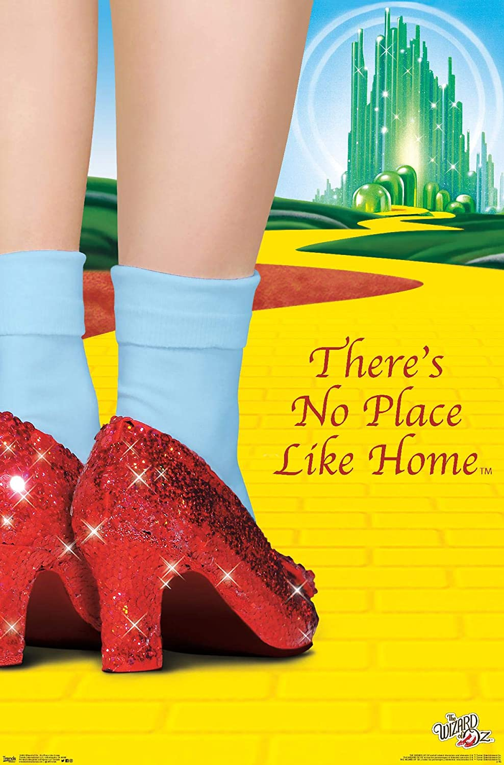 Trends International Wizard of Oz-No Place Like Home Wall Poster, 22.375