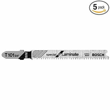 Bosch T101bif 5 Piece 3 14 In 14 Tpi Special Laminate Cutting T
