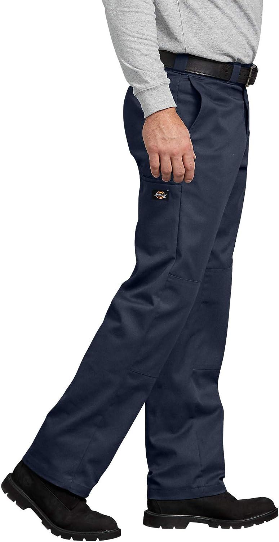 Dickies Mens Flex Regular Straight Fit Double Knee Work Pant