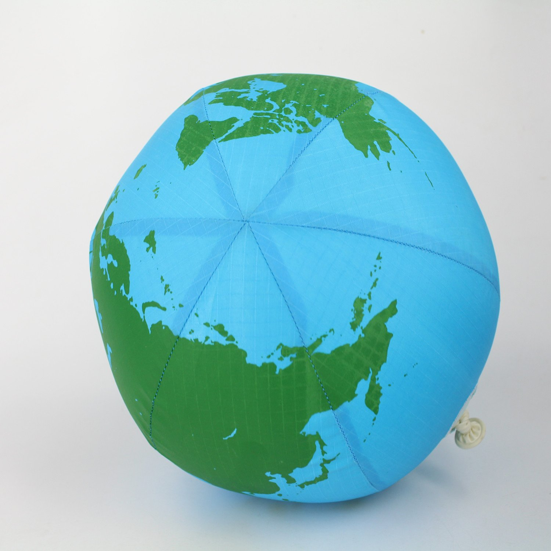 Balloon Skinz Fabric Covered Balloon - Plush Toy Stuffed Animal Ball for Kids (Earth) Shenzhen creative thinking alibility