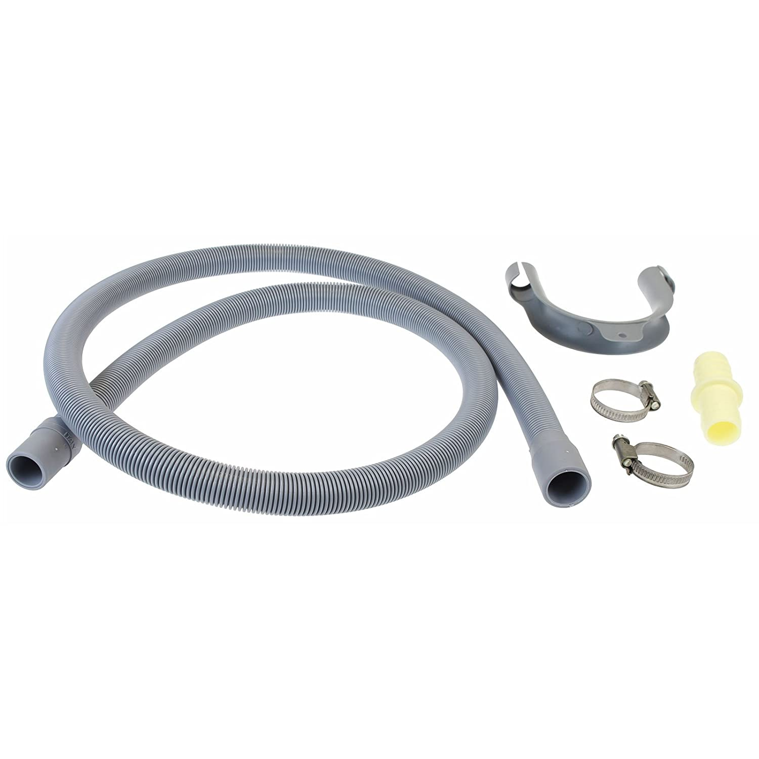 First4Spares Premium Replacement Drain Hose Extension Kit for Hotpoint Washing Machines - 1.6m