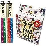Tenzi 2 Pack for 8 Players - 8 Sets of Ten Dice with Bonus 77 Ways to Play Tenzi