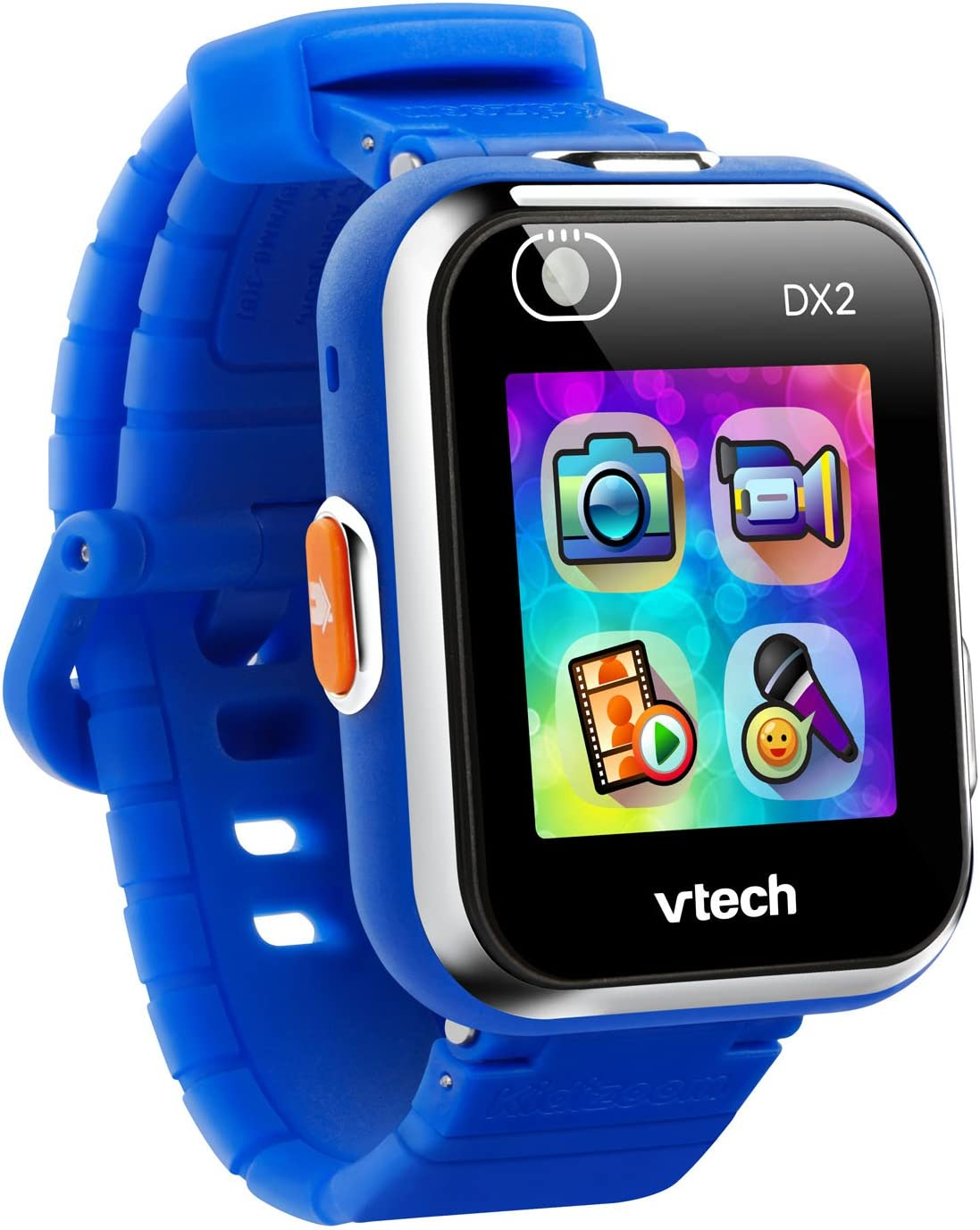 VTech KidiZoom Smartwatch DX2, Blue, Great Gift For Kids, Toddlers, Toy for Boys and Girls, Ages 4, 5, 6, 7, 8, 9