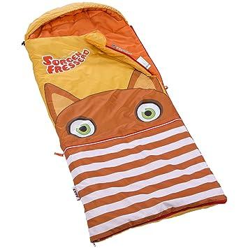 skandika Sorgenfresser - saco dormir para niños - 170 cm - -12°C (marrón): Amazon.es: Deportes y aire libre