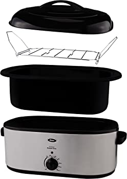 Oster CKSTRS23-SB 22-Quart Roaster Oven with Self-Basting Lid