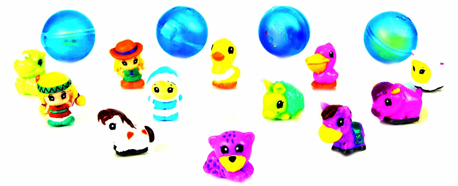 Disney-Princess-Squinkies-Set-Cinderella-Bubble-Pack-Boys-Barbie-Fuzzies thumbnail 12