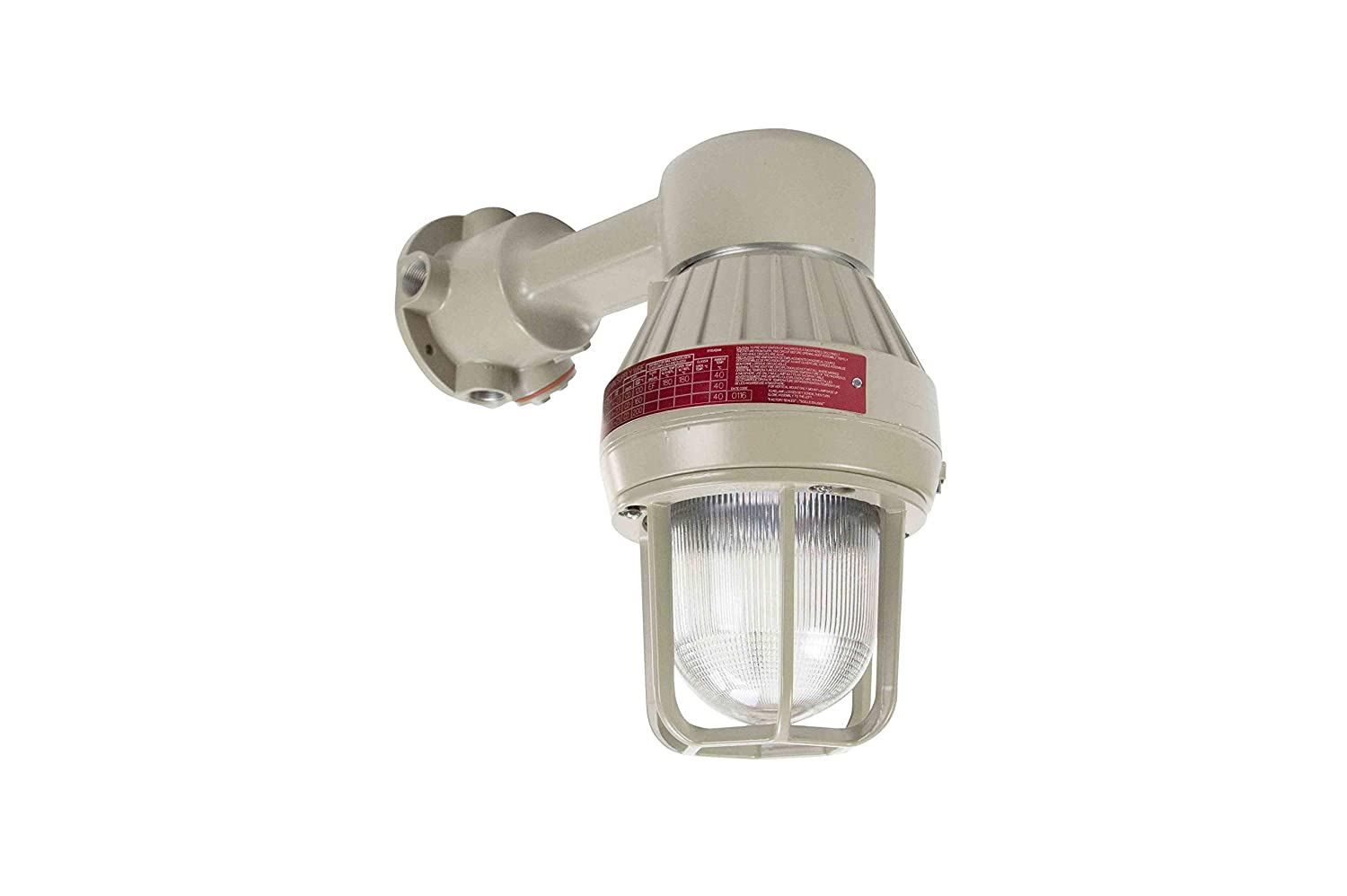 Larson electronics 1218oxootss class 1 division 1 explosion proof 300w high bay led light fixture with i beam mount paint booth 120 277v ac compact