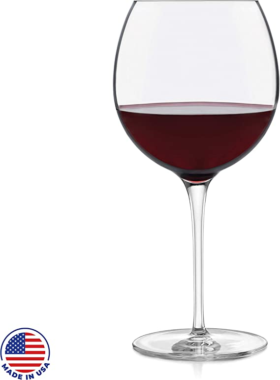Libbey Signature Kentfield Balloon Red Wine Glasses