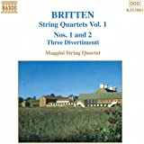 String Quartet 1 D Maj / String Quartet 2 C Maj