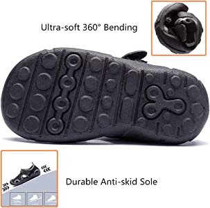 Summer Kids Boys Toddler Sport Water Sandals Closed-Toe Outdoor Casual Shoes 50