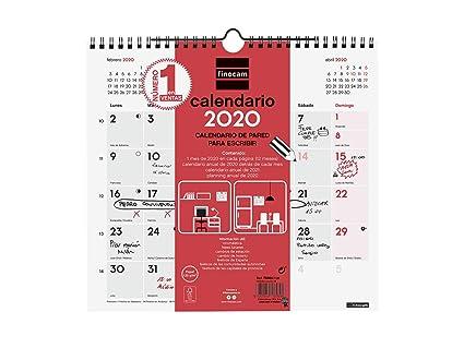Amazon.com : Finocam - Wall Calendar 2020 : Office Products