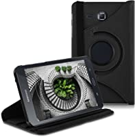 ATF 360° Case for Samsung Galaxy Tab A 7.0 - PU Leather Protective Tablet Cover with Stand Function - Black