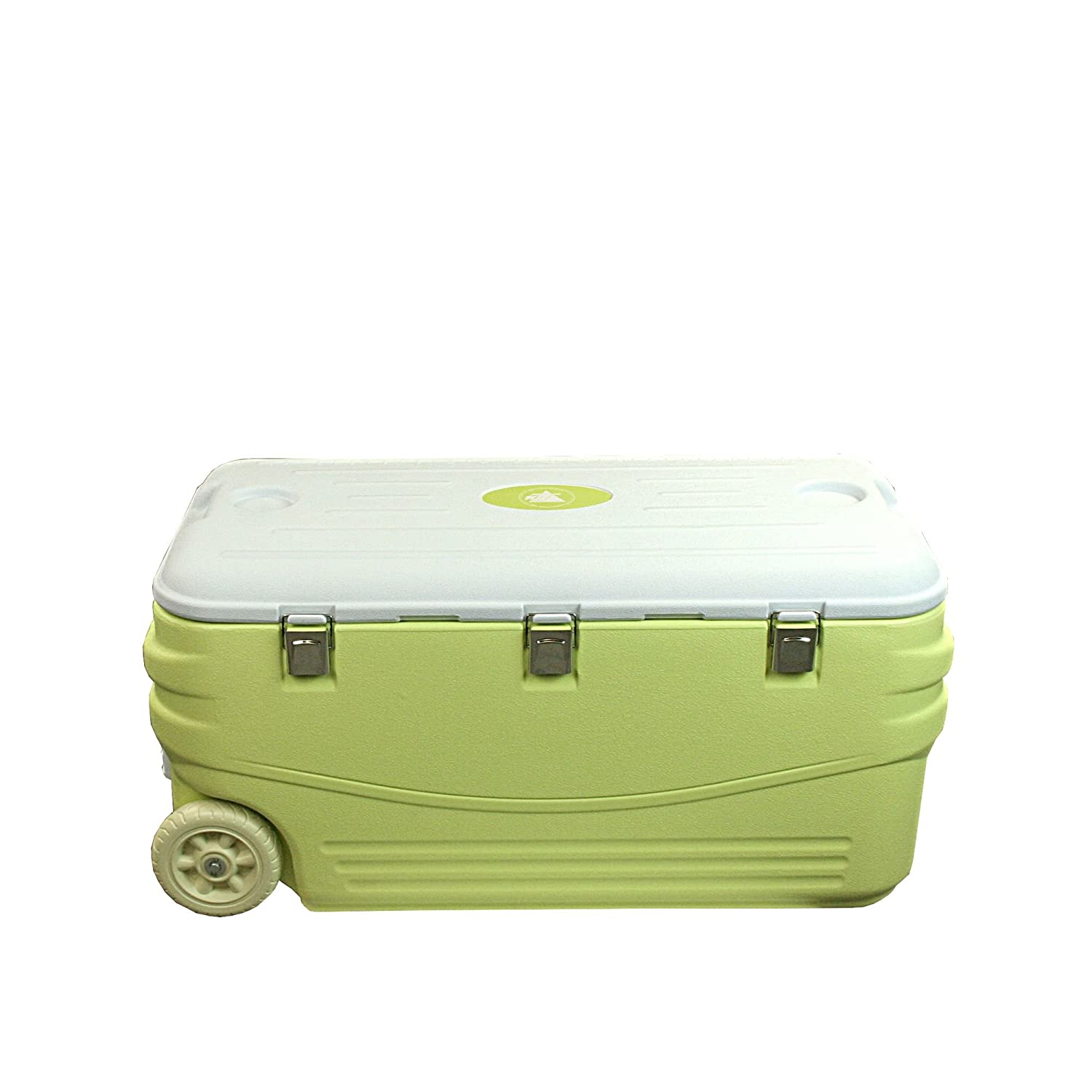 10T Outdoor Equipment Fridgo 100 - Nevera para acampada, color verde claro, talla 100 l: Amazon.es: Deportes y aire libre