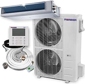 Pioneer Inverter++ Split Heat Pump, 48,000 BTU, 208-230 V