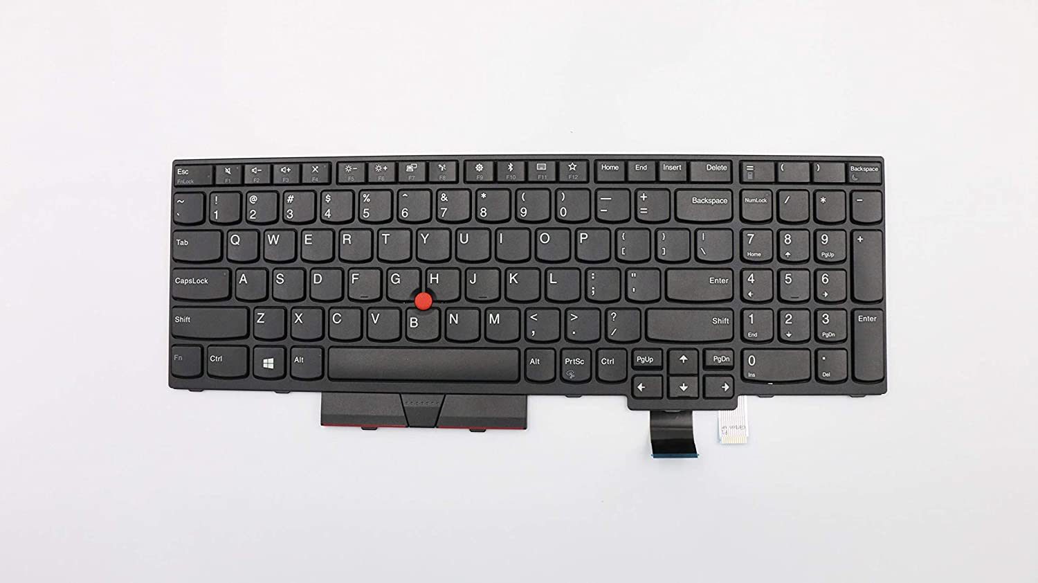TellusRem Keyboard for Lenovo Thinkpad T570 T580 P51s P52s (No Backlit) US Layout, New, Never Used