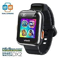 VTech Kidizoom Smartwatch DX2 Amazon Exclusive, Black
