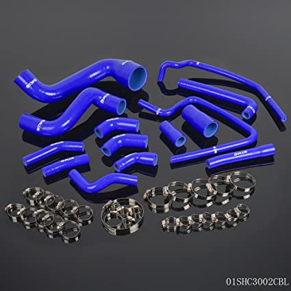 Silicone Radiator Water Hose Kit For PORSCHE 944 TURBO 951 TURBO S 88 TO 91