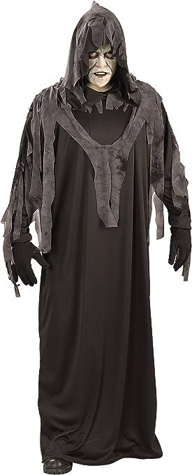 Halloween - Disfraz de Fantasma Maldito Nocturno para adultos ...