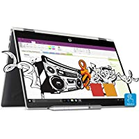 HP Pavilion x360 Intel Core i3 8th Gen 14-inch Touchscreen 2-in-1 FHD Thin and Light Laptop (4GB/1TB+8GB SSHD/Windows 10 Home/MS Office/Natural Silver/1.59 kg), cd0077TU