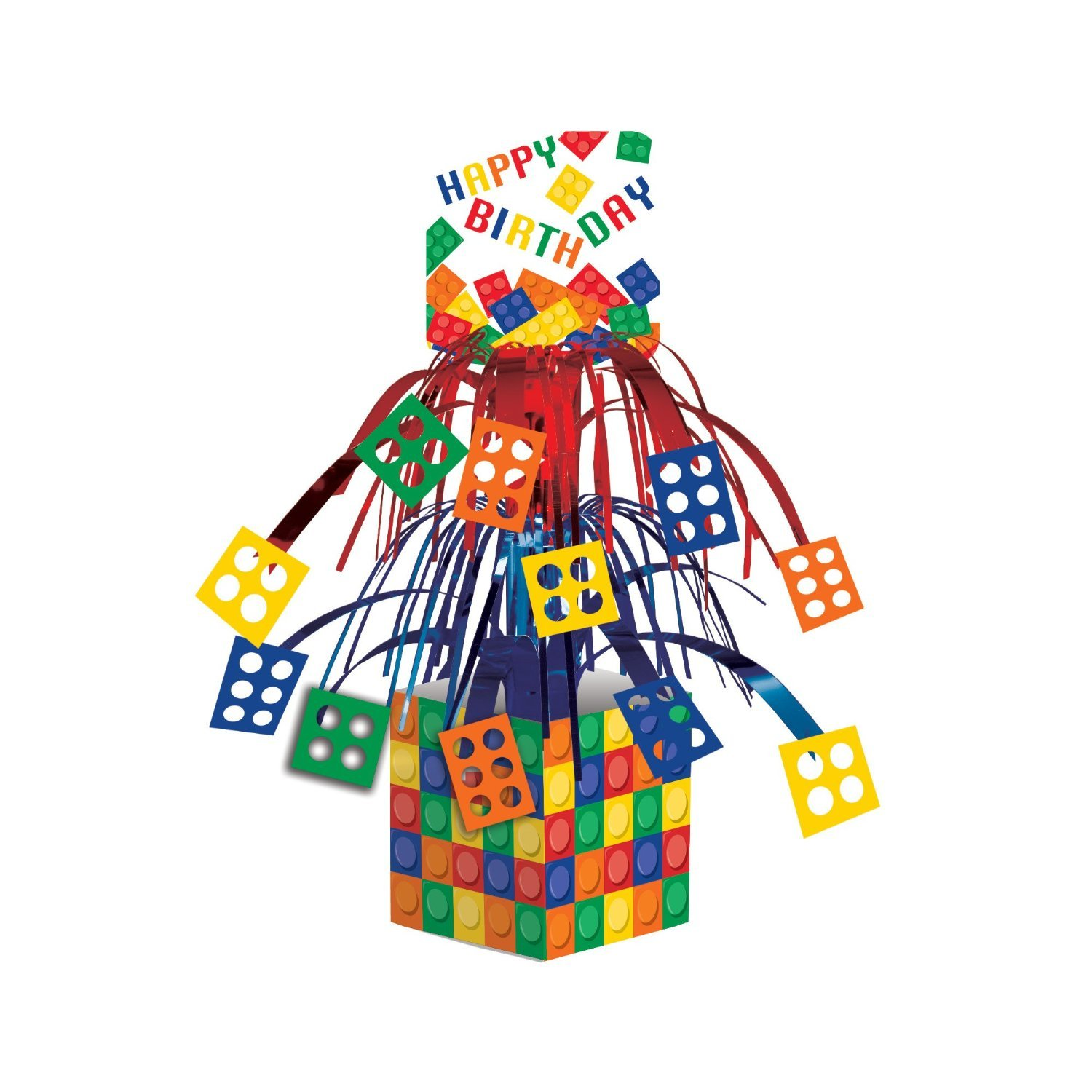 Block Party Decorations Pack Centerpiece Image 2