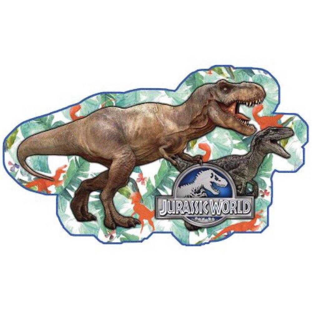 Jurassic World Kids Shapedビーチタオル   B07CWGNHMT