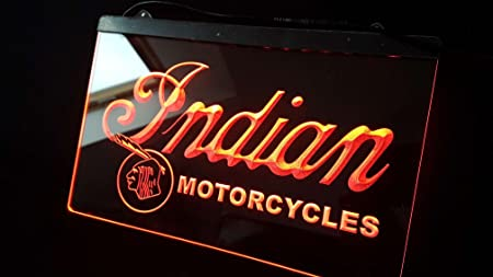 Zhengdian Electronic Indian Motorcycles Neon 3D Neon LED Cartel Cartel