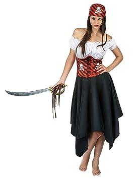 Generique - Disfraz Pirata del océano Mujer M: Amazon.es: Juguetes ...