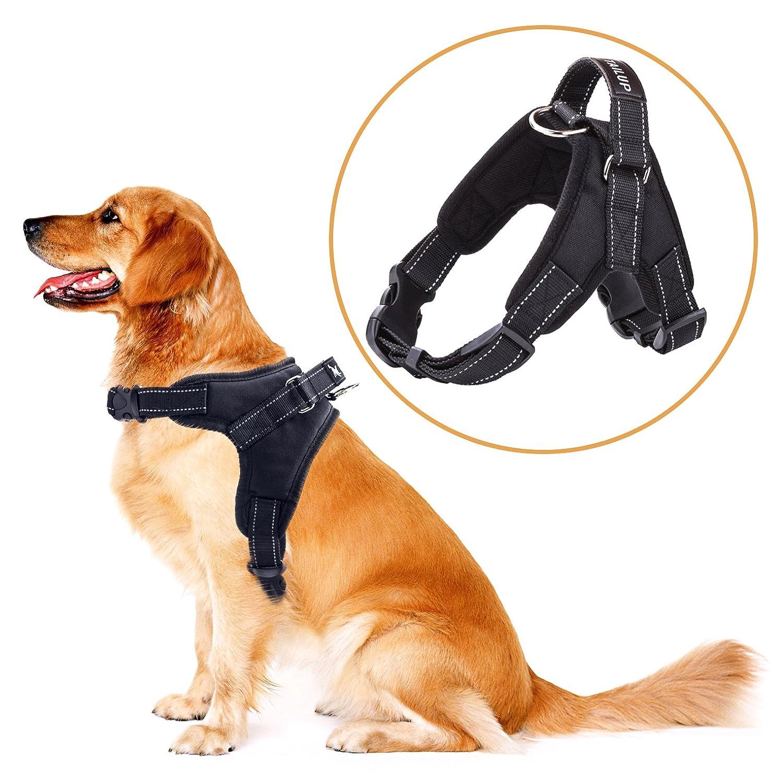 merrybiy chien poitrine de sport harnais gilet pour gros chiens assistance ebay. Black Bedroom Furniture Sets. Home Design Ideas