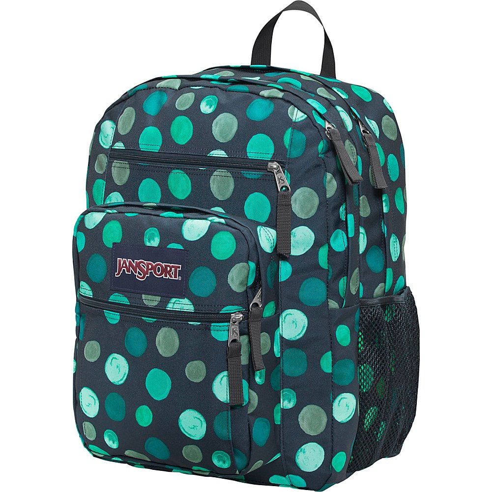 Multicoloured, Navy bluee, Connect JanSport Rucksack Big Student Asphalt wild at heart One Size