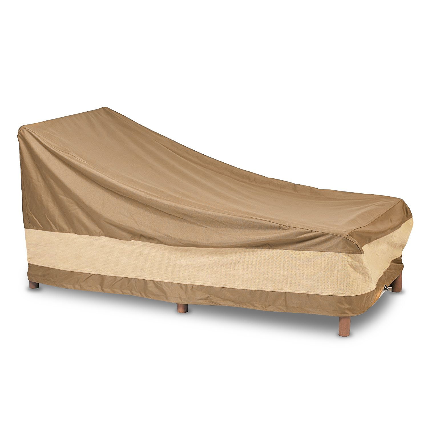 AnyWeather AWPC04 Patio Chaise Lounge Outdoor Cover, Beige