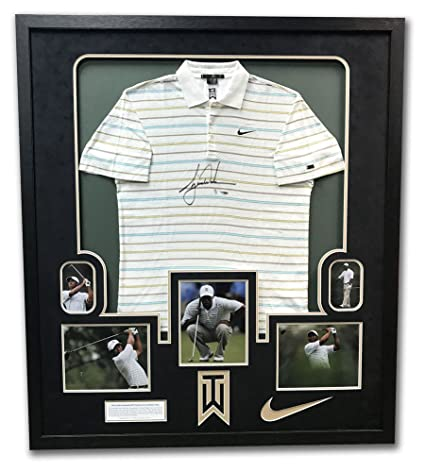 1f4420ef0af Image Unavailable. Image not available for. Color  Tiger Woods Tournament  Worn   Autographed Signature Nike ...