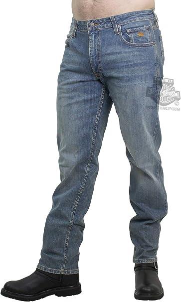 Harley-Davidson® Men/'s 40 x 32 Modern Straight Jeans Dark Wash Denim 99004-15VM